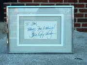 Stevie Ray Voughan signature 1
