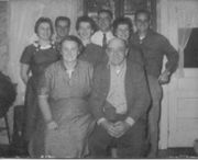 Clyde Ackley Family Group Photo