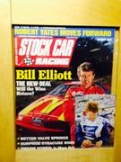 Bill Elliott Signing Stock Car Racing Magazine, Issue Jan. 1995