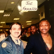 The Late Joe Frazier, Heavy Weight Boxing Champion