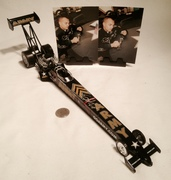 Tony Schumacher Signing NHRA  ARMY Top Fuel Dragster