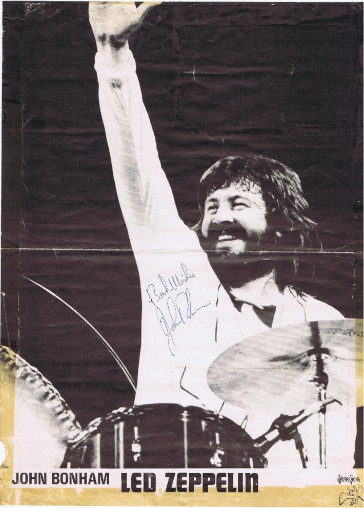 john bonham poster