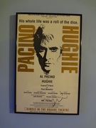 Al Pacino Autographed Hughie Poster