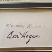 Ben Hogan and Herman Keiser