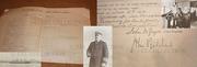 Captain John Pritchard 1906 Signed Log R.M.S. Carmania