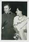 James Mason Vintage Signed Candid C.1959