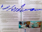 The Late George Barris, Signed, School History Project. #25-41