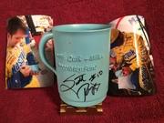 #32-12, NASCAR, Scott Riggs, Jeff Green, Signing, Nestle, Plastic Cup,