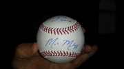Mark Melancon signed baseball
