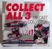#42-21, NHRA, Pro Stock, Allen Johnson, Signing, AMOCO, Collect All 3, Die Cast Collector, Plastic, Ad.,