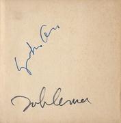 John Lennon & Yoko Ono Signed Book