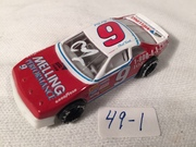 #49-1, NASCAR, Chad Little, Initial, Pit Row, #9, Melling, 1/64 scale, diecast,