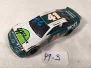 #49-3, NASCAR, Ricky Craven, Initial, 1995, Racing Champions, #41, Larry Hendrick, 1/64 scale, DIE CAST,