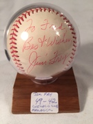 #49-42, Baseball, Chicago Cubs, Jim Frey, Cubs Manager, Personalized, Baseball,