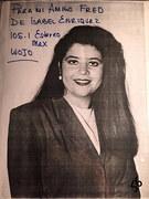 #46D-56, Radio, De Isabel Enriquez, DJ, WOJO 105.1 Estereo, Signed, Hero Card,