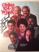 #46D-51, RADIO, Dick Biondi, DJ, 104.3 WJMK, Signed, Hero Card,