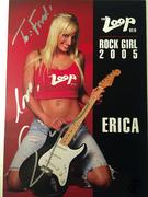 #46D-40, Erica, 2005, Loop Rock Girl, Signed, Hero Card,
