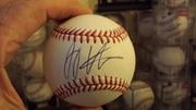 Joey Votto signed baseball