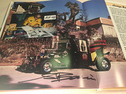 #25-43, Hollywood, George Barris, Signing, Book, Star Cars, 1987, Page 116,