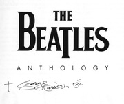 George Harrison Signed Beatles Book