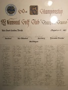 1987 PGA Players Championship All Players Signed