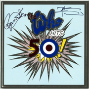 The Who Hits 50! Tour programme signed by Roger Daltrey and Pete Townshend