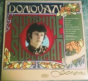 "Donovan signed ""Sunshine Superman"" lp"