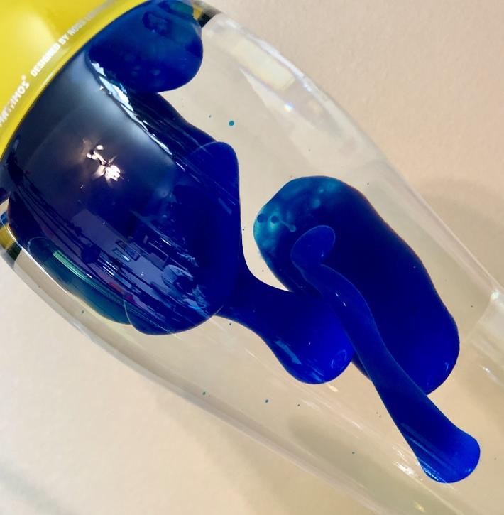 Blue/Clear Fluidium