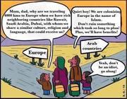 Arab immigrants head for Europe