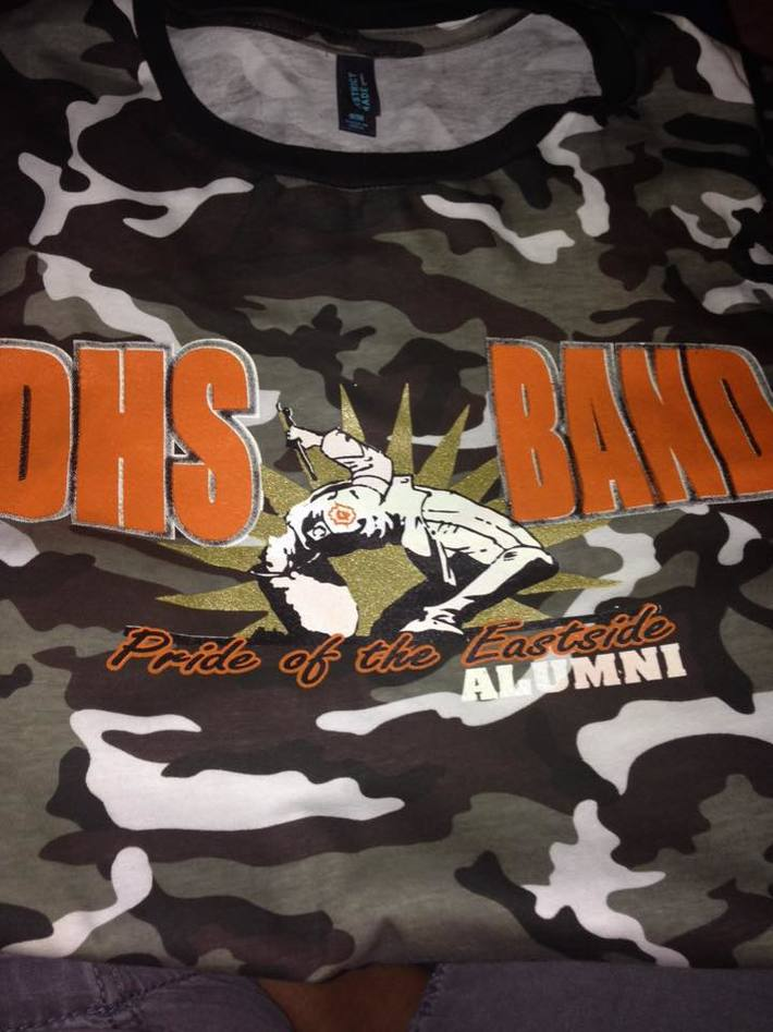 Homecoming 2015 Band tshirt