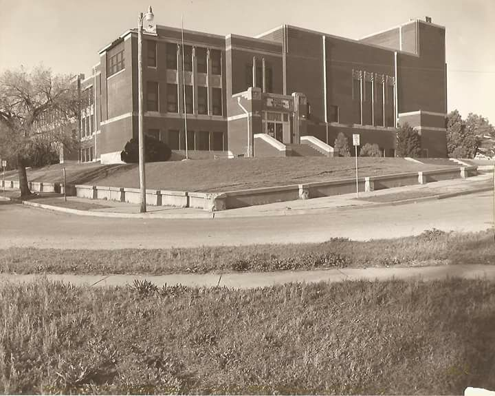 Old Douglass High School on 6th and High