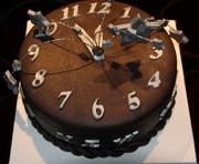 """Mijn allereerste taart """"oud en nieuw"""""""