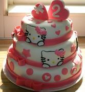 Hello Kitty voor Marit