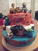 Toy Story taart