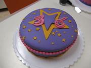 M'n allereerste taart gemaakt bij een JouwTaart- workshop!