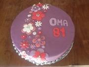 Verjaardagstaart voor oma!