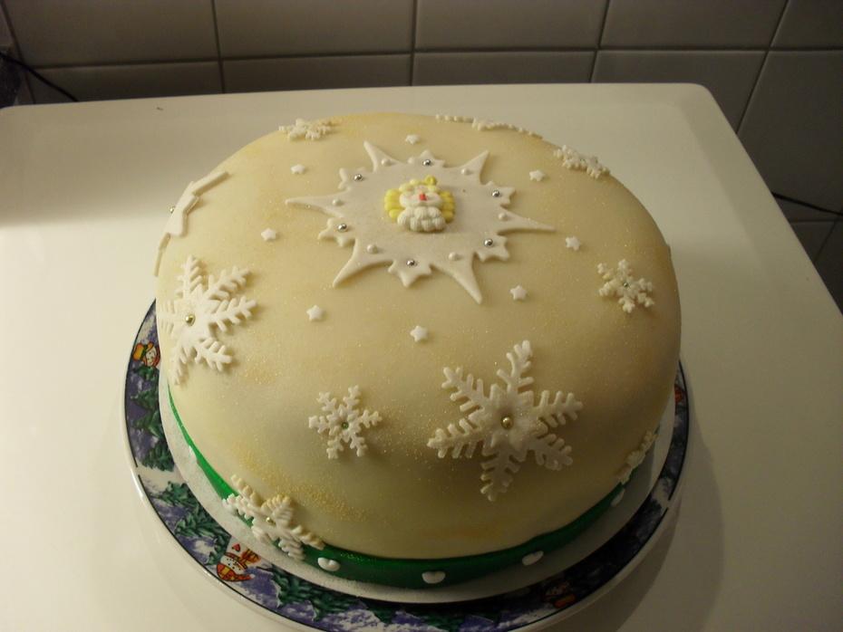 kerst taart 2013
