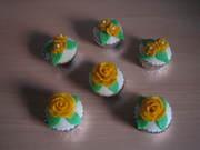 Rozen cup cakes