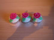 Roosjes Cup cakes