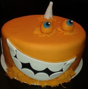Monster Inc. taart