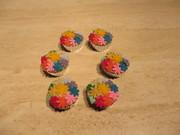 cup cakes bloemen festijn