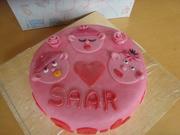geboorte taart voor onze kleindochter Saar Anna