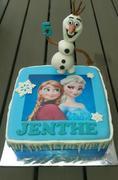 'Frozen' taart