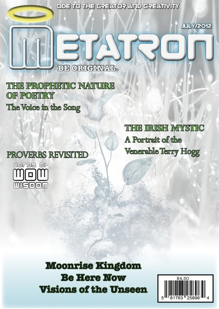Metatron mag-July Cover 2012