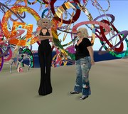 Gracie Kendal and Kris Schomaker in Second LIfe