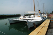 Tiki 26 and bimini