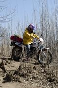 wharram sailors explore africa by motorbike