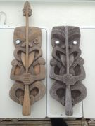 New Zealand carvings