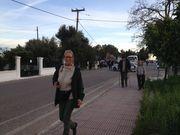 Hanneke leads us to a Messolongi parade