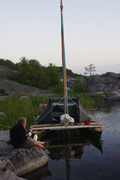 Deck tent